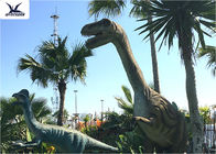 Theme Park Exhibition Large Resin Animal Models , Dinosaur Garden Art