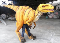 Simulation Walking Real Life Dinosaur Costume Controlled By Human / Hollywood Movie Props
