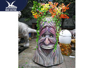 High Simulation Decorative Statue Speech Tree With Colorful Branches