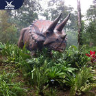Wonderful Party Decoration Realistic Dinosaur Models Fire Resistance
