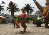 Weather Resistant Life Size Fiberglass Statues Tail Movement For Exhibition